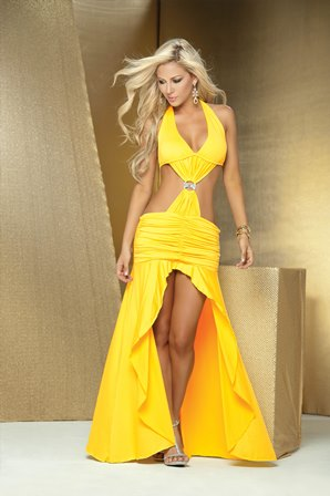 Long Gown Yellow